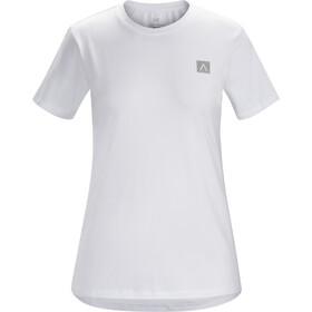 Arc'teryx A Squared Bluzka z krótkim rękawem Kobiety, white